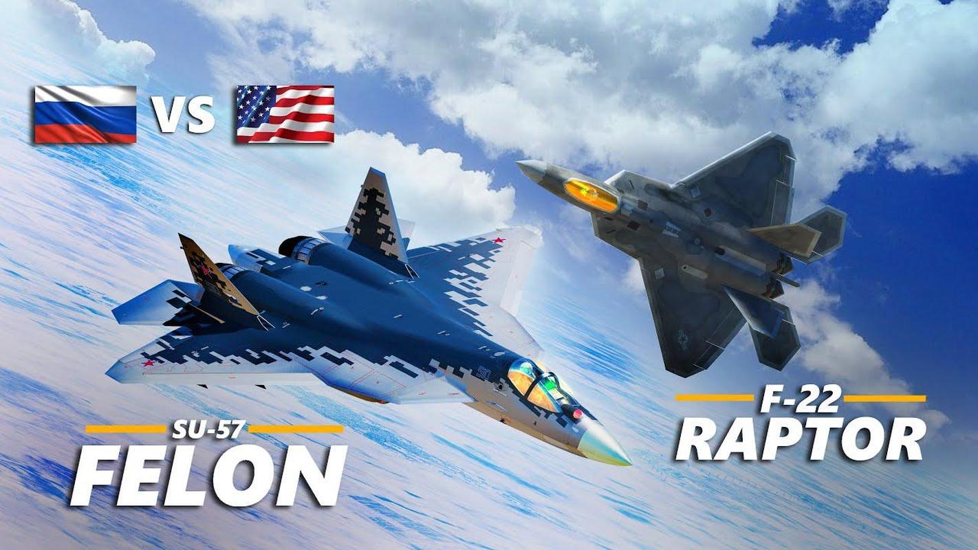 Bao My: Su-57 Nga se chien thang 'chim an thit' F-22 trong thuc chien-Hinh-9