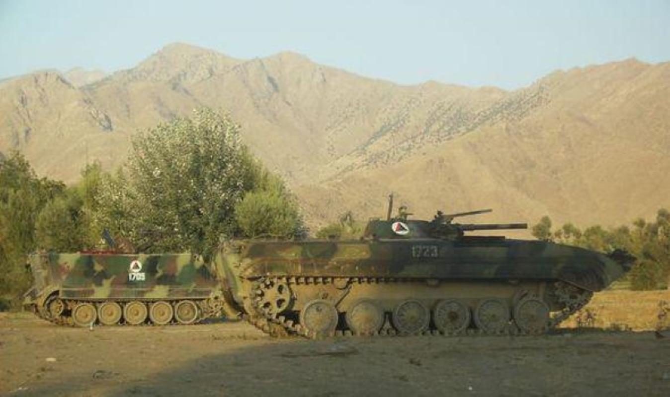 Xe chien dau bo binh huyen thoai Lien Xo trong tay phe khang chien Afghanistan-Hinh-3