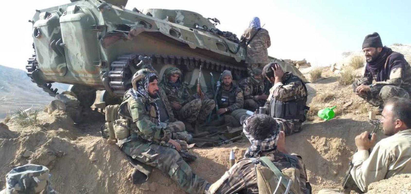 Xe chien dau bo binh huyen thoai Lien Xo trong tay phe khang chien Afghanistan