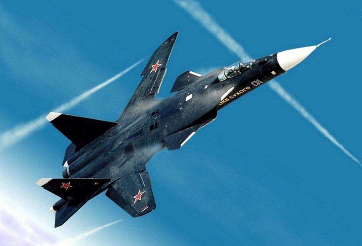 Tiem kich ham the he sau cua Trung Quoc gay soc khi rat giong Su-47-Hinh-11