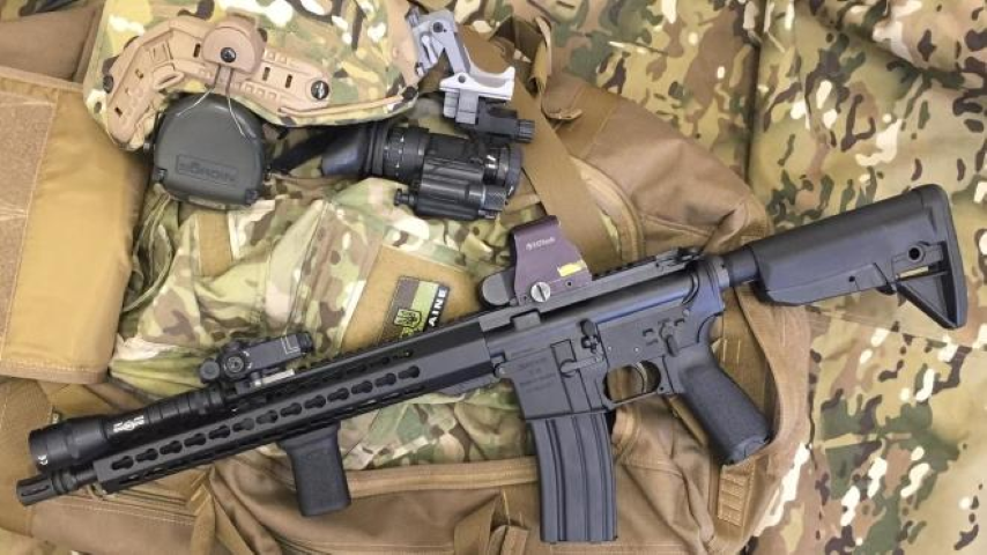 Ve binh Quoc gia Ukraine thay the sung AK bang sung AR-15 My-Hinh-4