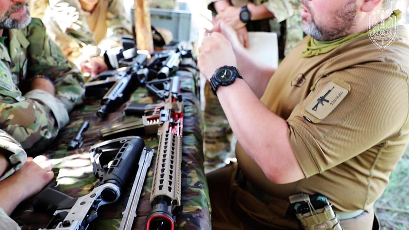 Ve binh Quoc gia Ukraine thay the sung AK bang sung AR-15 My-Hinh-6