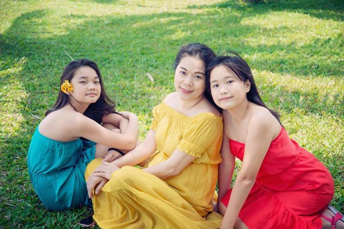 My Le khoe cuoc song giau co, yen binh ben chong con o Duc-Hinh-2
