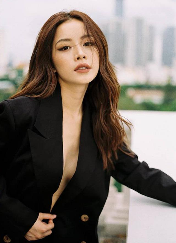 Loat sao Viet khoe body nong bong voi vest khong noi y-Hinh-7