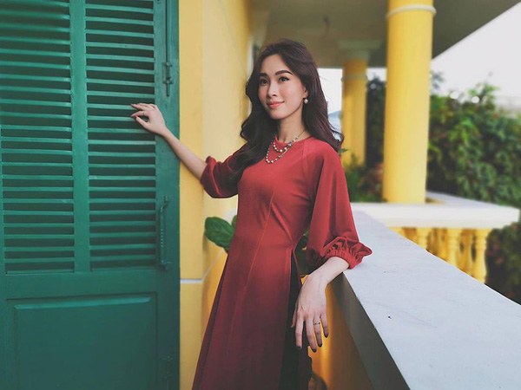 Dang Thu Thao kheo leo khoe chong khi dap tra nghi van mang thai-Hinh-5