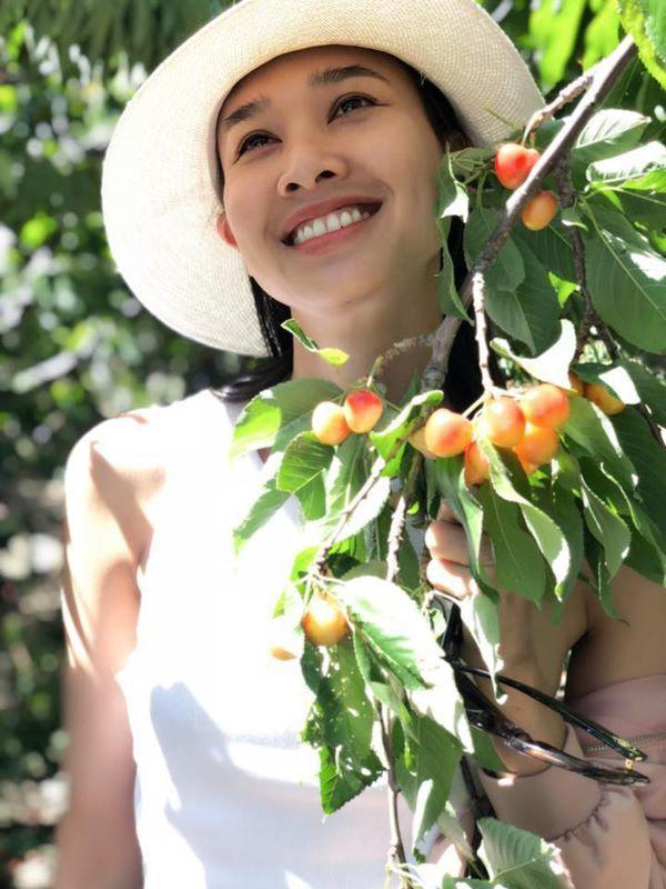 Duong My Linh khoe cuoc song nhu thien duong ben dat My-Hinh-2