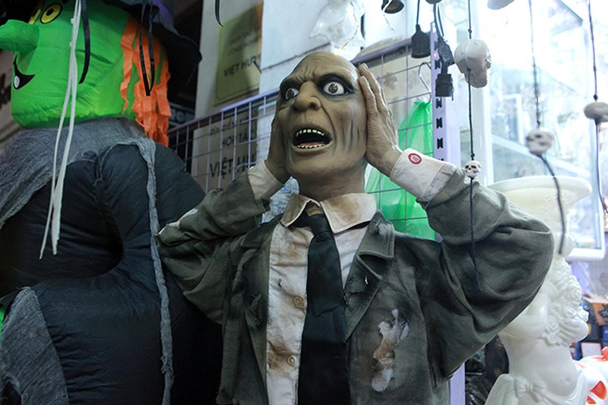 """Ron nguoi pho """"am phu"""" mua Halloween giua long Ha Noi-Hinh-13"""