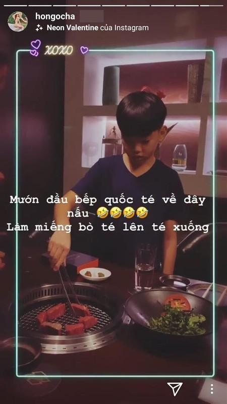 Nho Subeo chup hinh, Kim Ly - Ho Ngoc Ha het hon khi xem thanh qua-Hinh-3