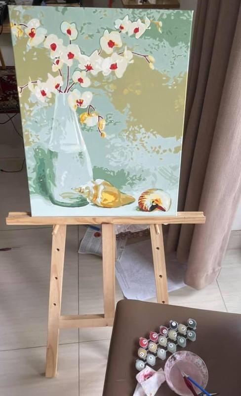Thoi bay buon chan: To tranh son dau so hoa, cam hoa rau cu-Hinh-2