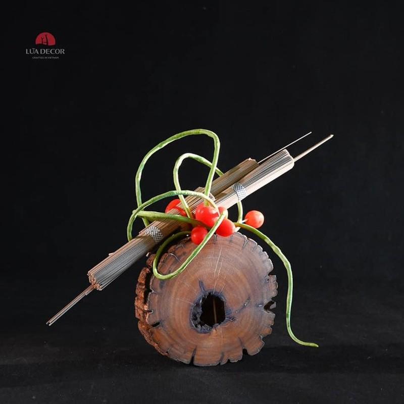 Thoi bay buon chan: To tranh son dau so hoa, cam hoa rau cu-Hinh-9