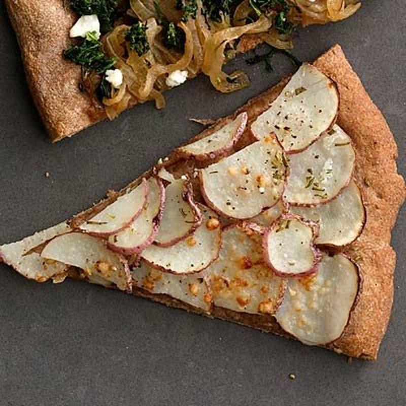 Nhung loai pizza chay luong calo thap tot cho suc khoe