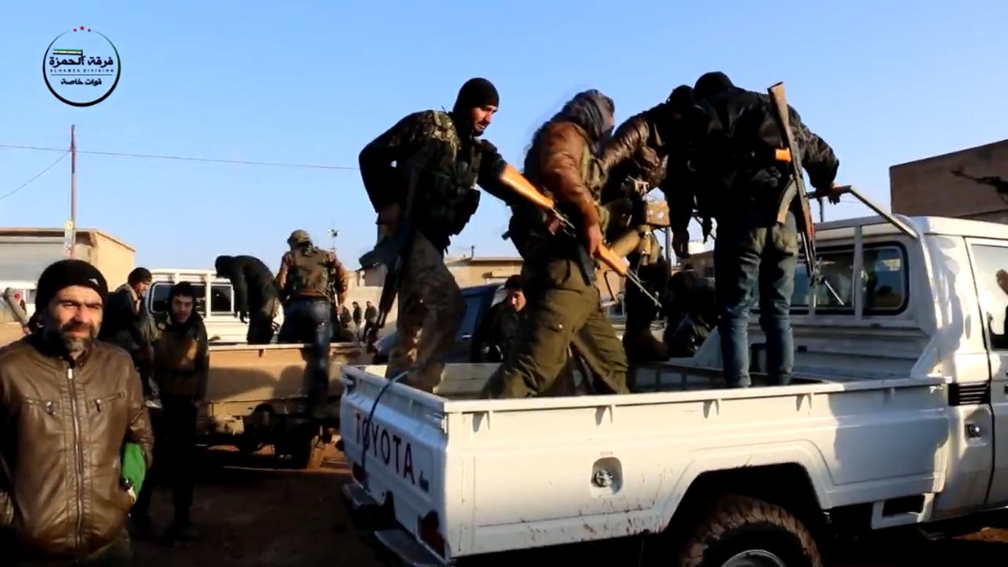 Kinh ngac vu khi cua chien binh Su doan Hamza o Syria-Hinh-5