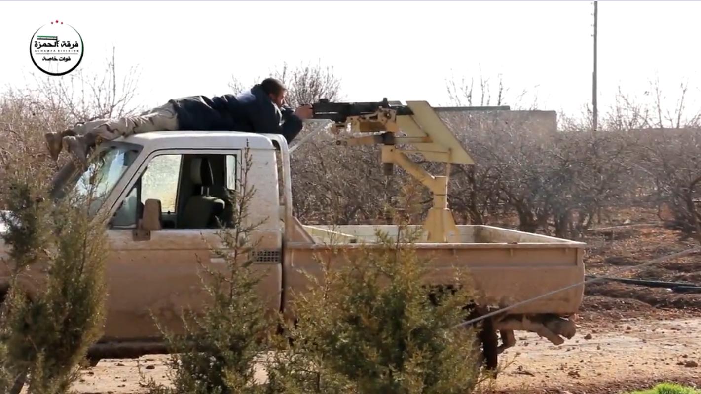 Kinh ngac vu khi cua chien binh Su doan Hamza o Syria-Hinh-9