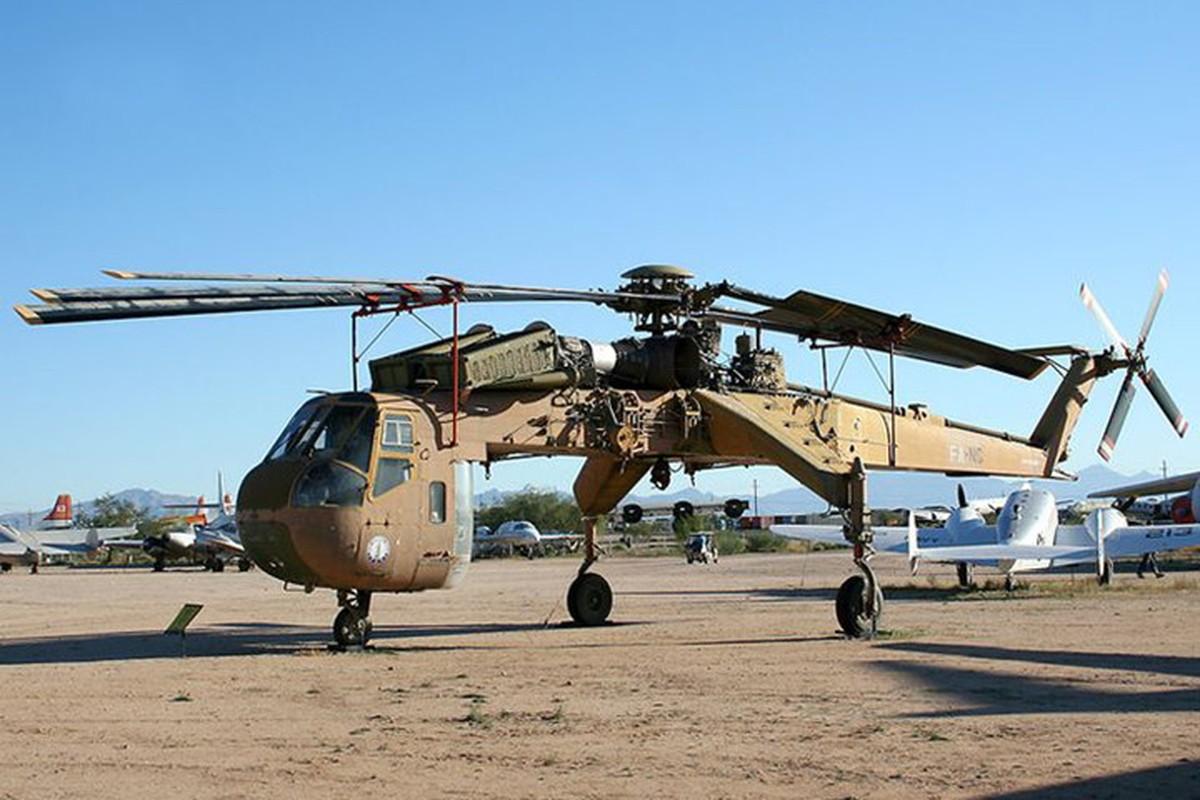 "Ngam thiet ke ""di thuong"" cua truc thang CH-54 Tarhe"