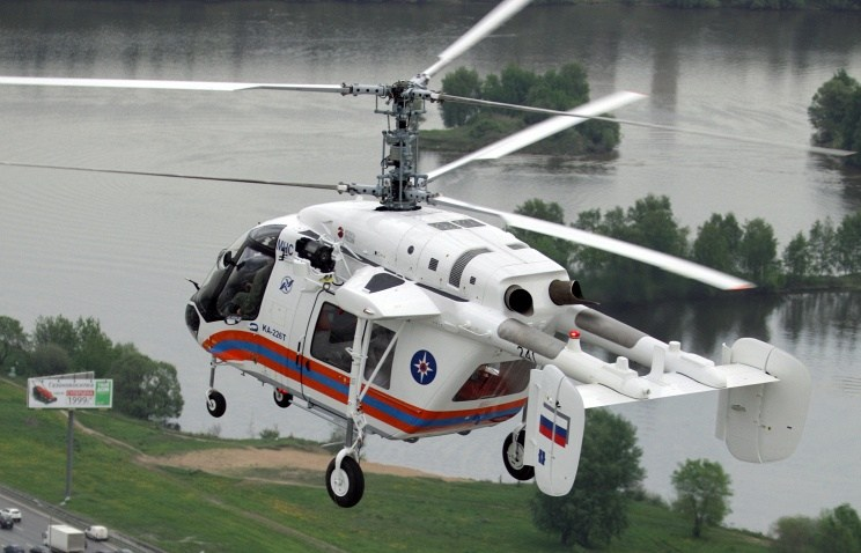 """Nga-An chuan bi """"lien doanh"""" xuat khau truc thang da nang Ka-226-Hinh-2"""