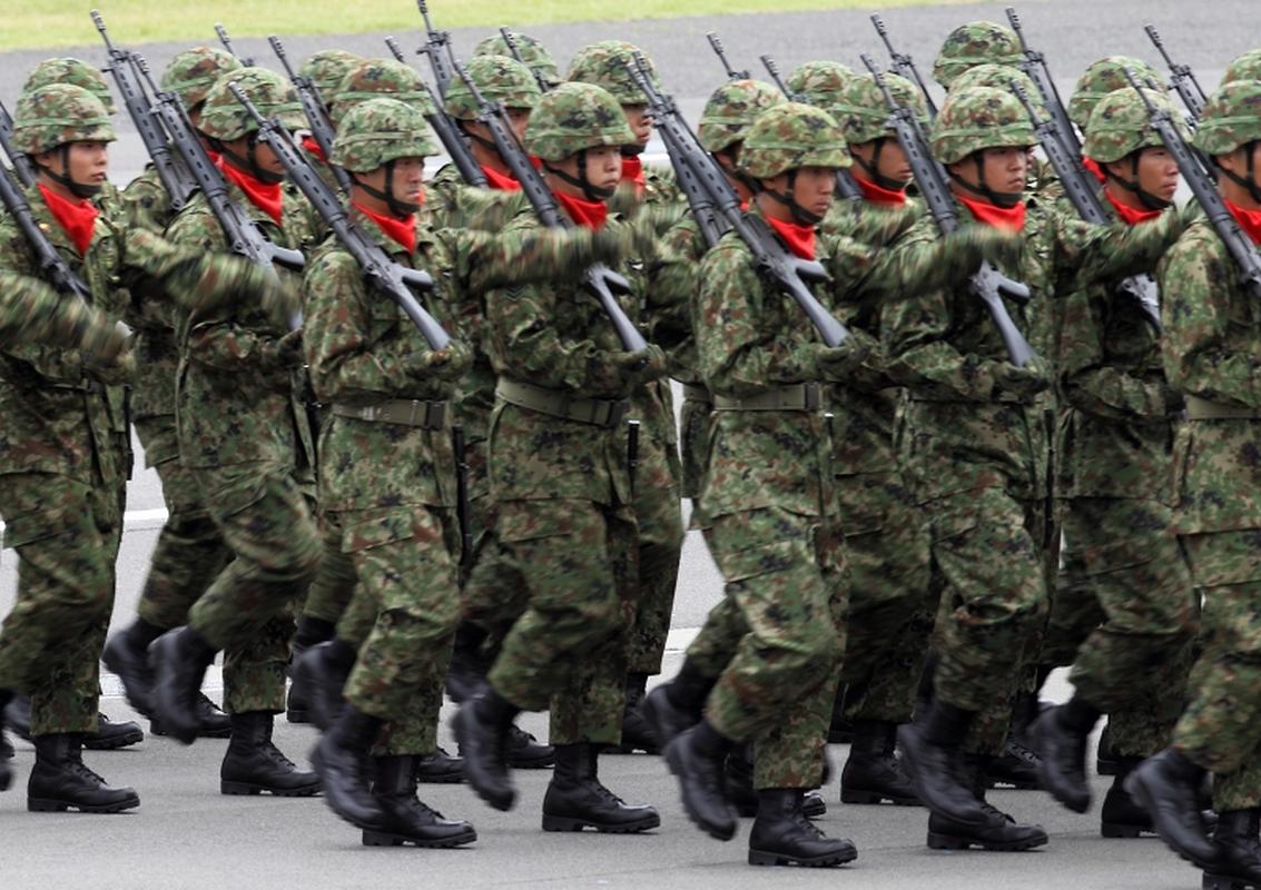 An tuong dan vu khi Nhat Ban chuan bi cho le duyet binh 14/10-Hinh-6