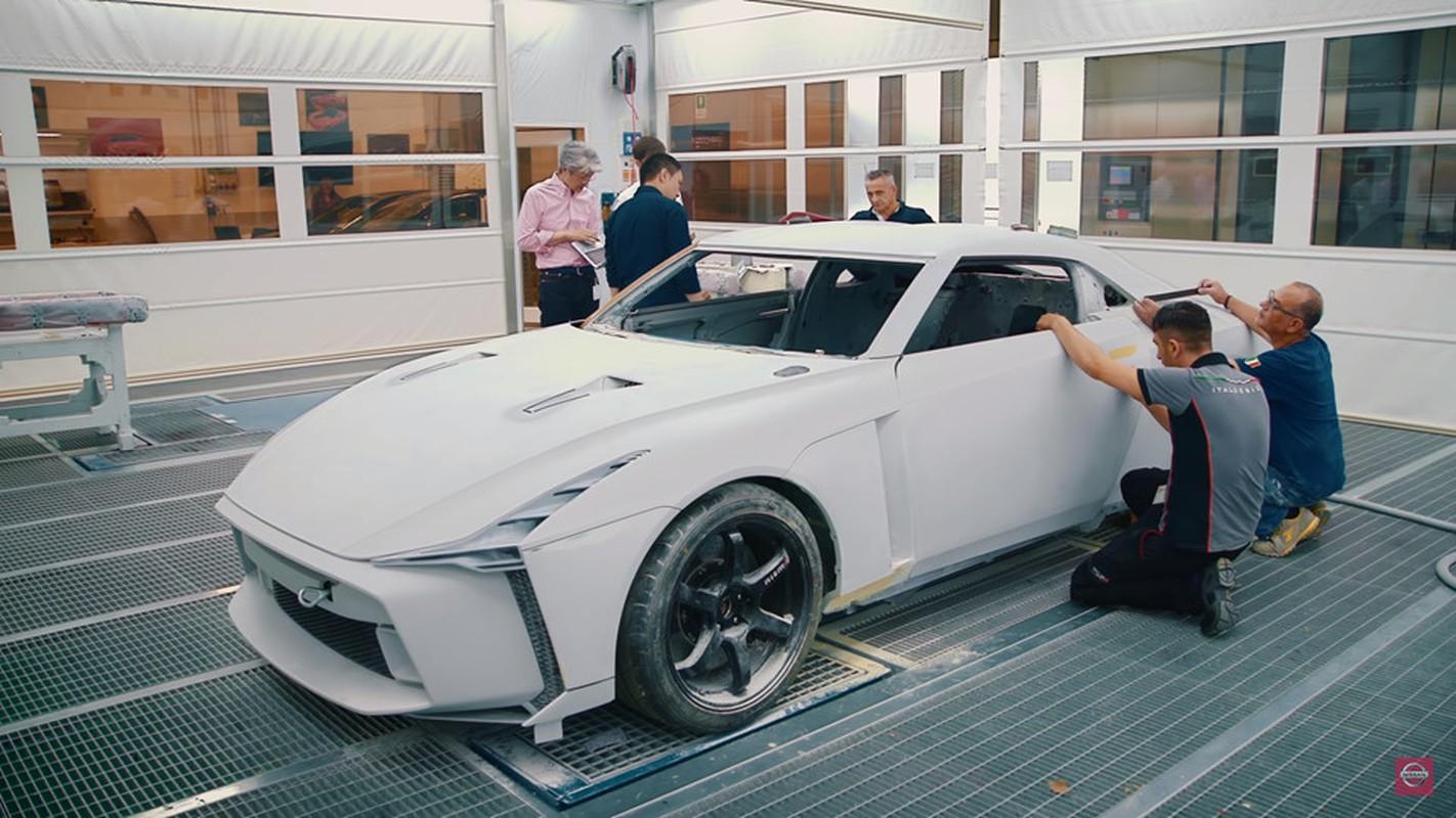 Nissan GT-R lot xac duoi ban tay hang thiet ke Italy-Hinh-3