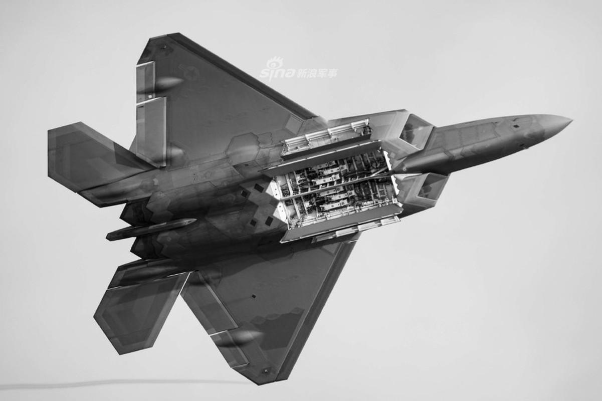 Can canh khoang bom va kha nang mang vac vu khi cua F-22 Raptor-Hinh-3