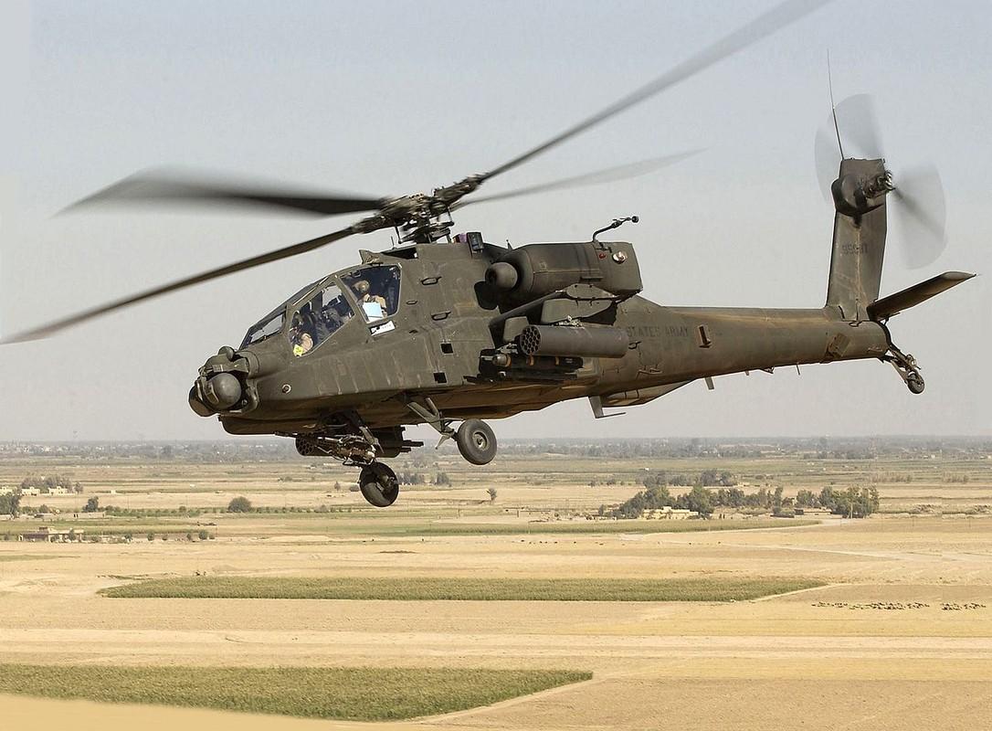 Chan dong: Truc thang Ka-52 loi khung, Ai Cap hot hoang mua Apache