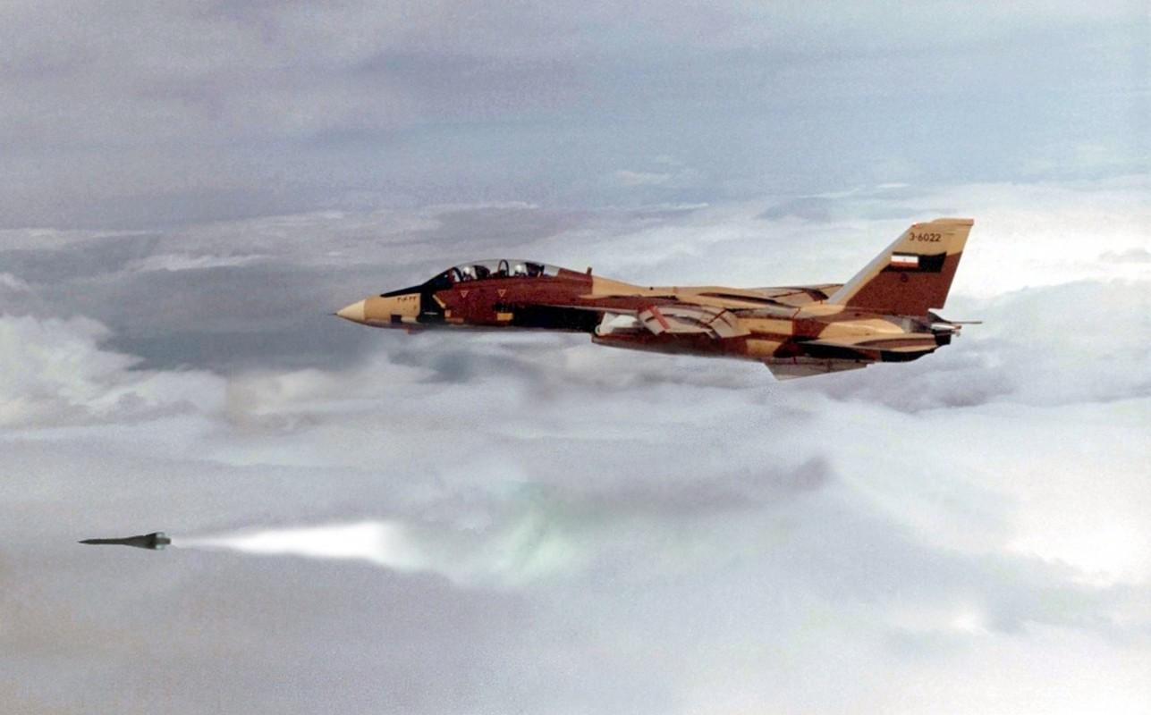 Chien cong ky la cua F-14 Iran, mot ten lua ha ba may bay Iraq-Hinh-10