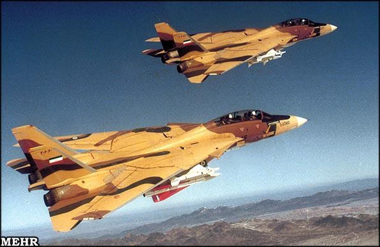 Chien cong ky la cua F-14 Iran, mot ten lua ha ba may bay Iraq-Hinh-11