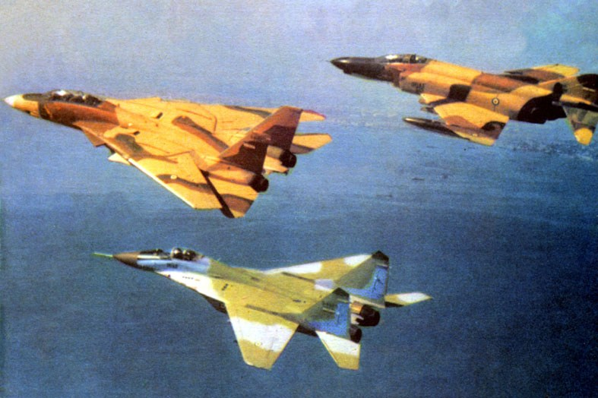 Chien cong ky la cua F-14 Iran, mot ten lua ha ba may bay Iraq-Hinh-8