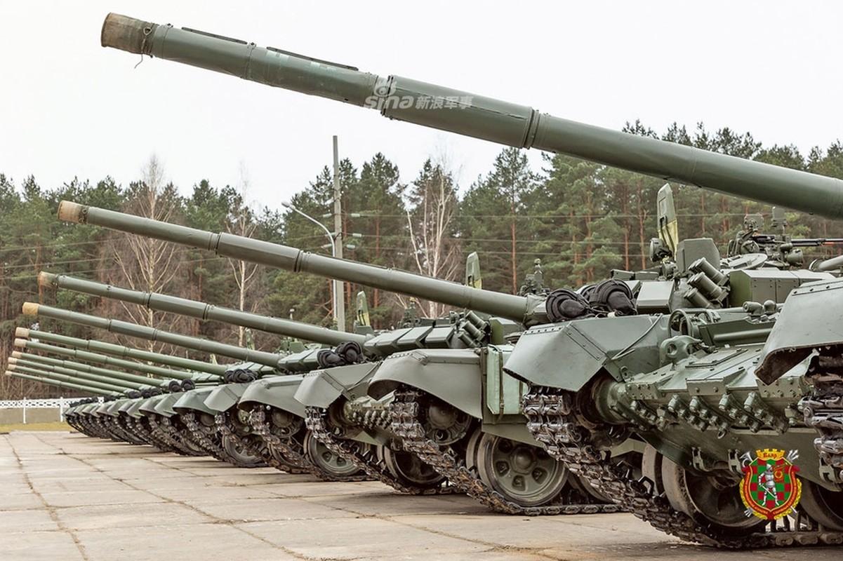 Belarus nhan lo xe tang T-72B3 cuoi cung tu Nga