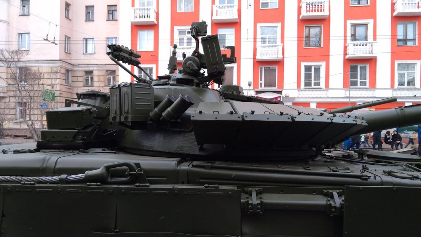 Hai quan Danh bo duoc trang bi T-80BVM, Luc quan Nga phat them-Hinh-5