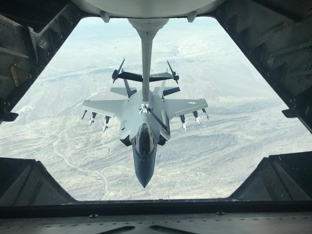 """Cang thang tang cao, F-35 My bat che do """"quai thu"""" o Trung Dong-Hinh-2"""