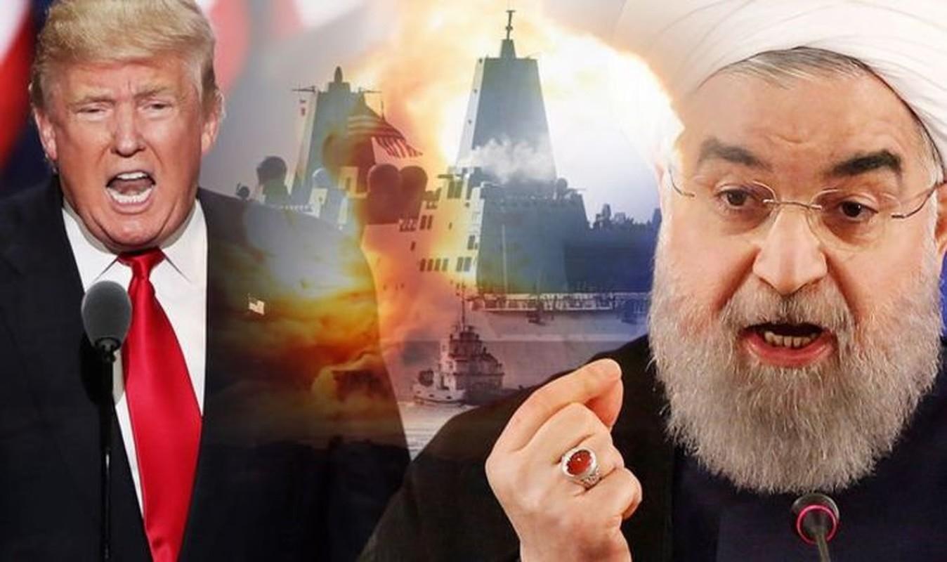 My tuyen bo san sang tan cong Iran, khong huy, chi hoan!
