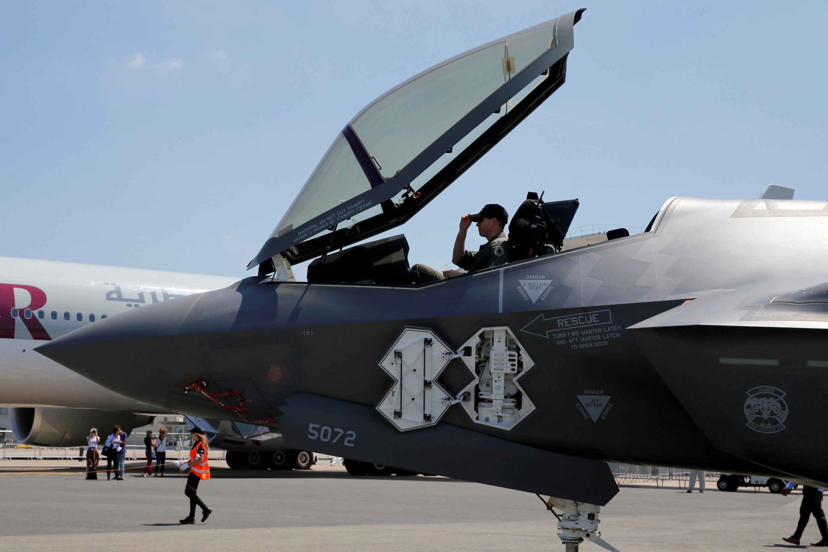 Khong phai My, day moi la quoc gia dau tien su dung F-35 tren chien truong-Hinh-9