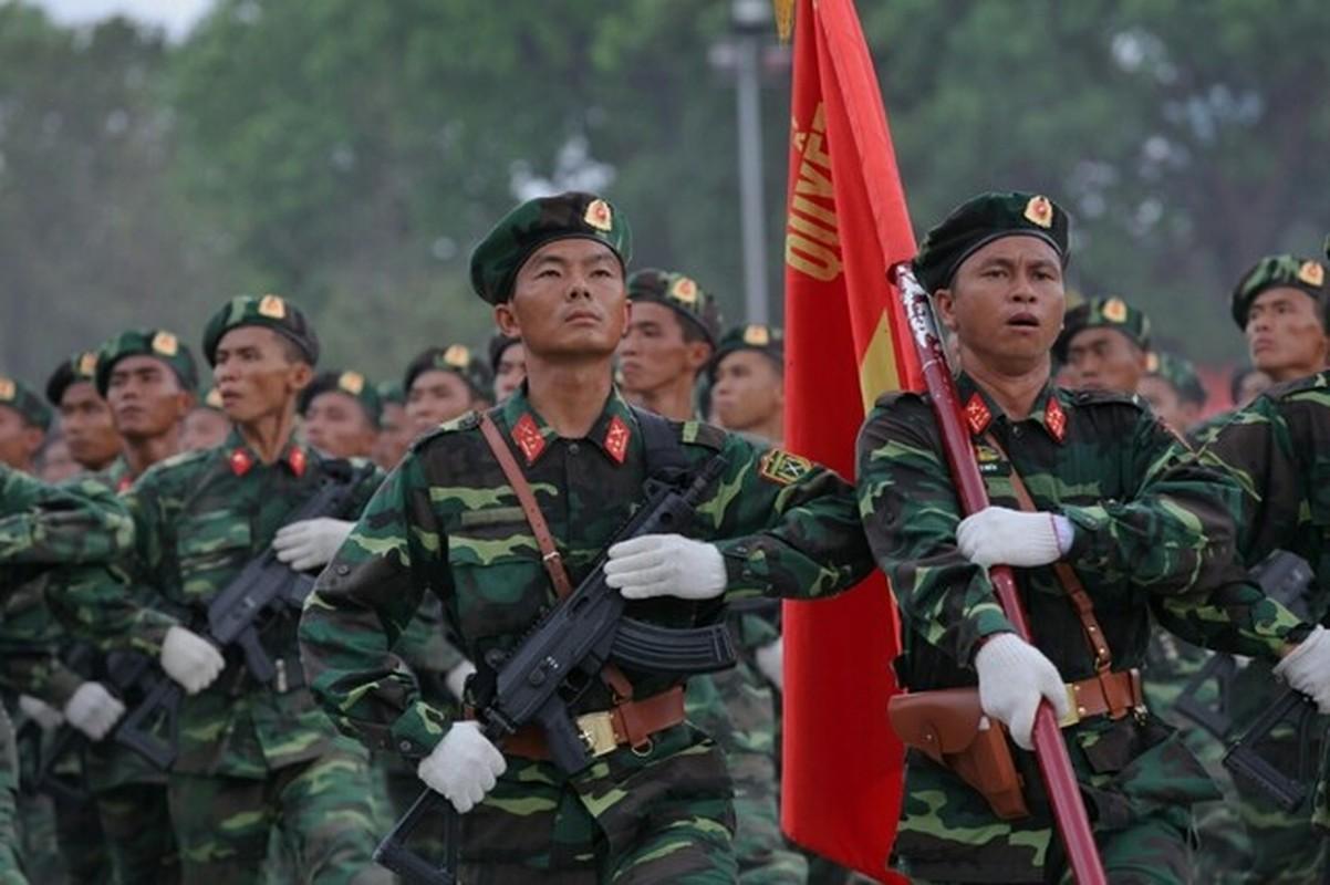 Viet Nam tang cuong trang bi sung Galil ACE 31 thay cho AKS va M18-Hinh-2