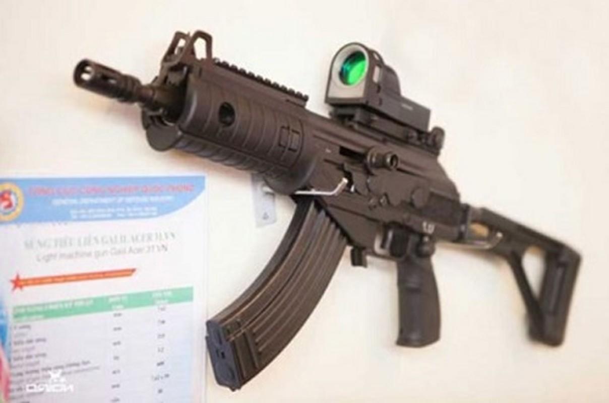 Viet Nam tang cuong trang bi sung Galil ACE 31 thay cho AKS va M18-Hinh-4