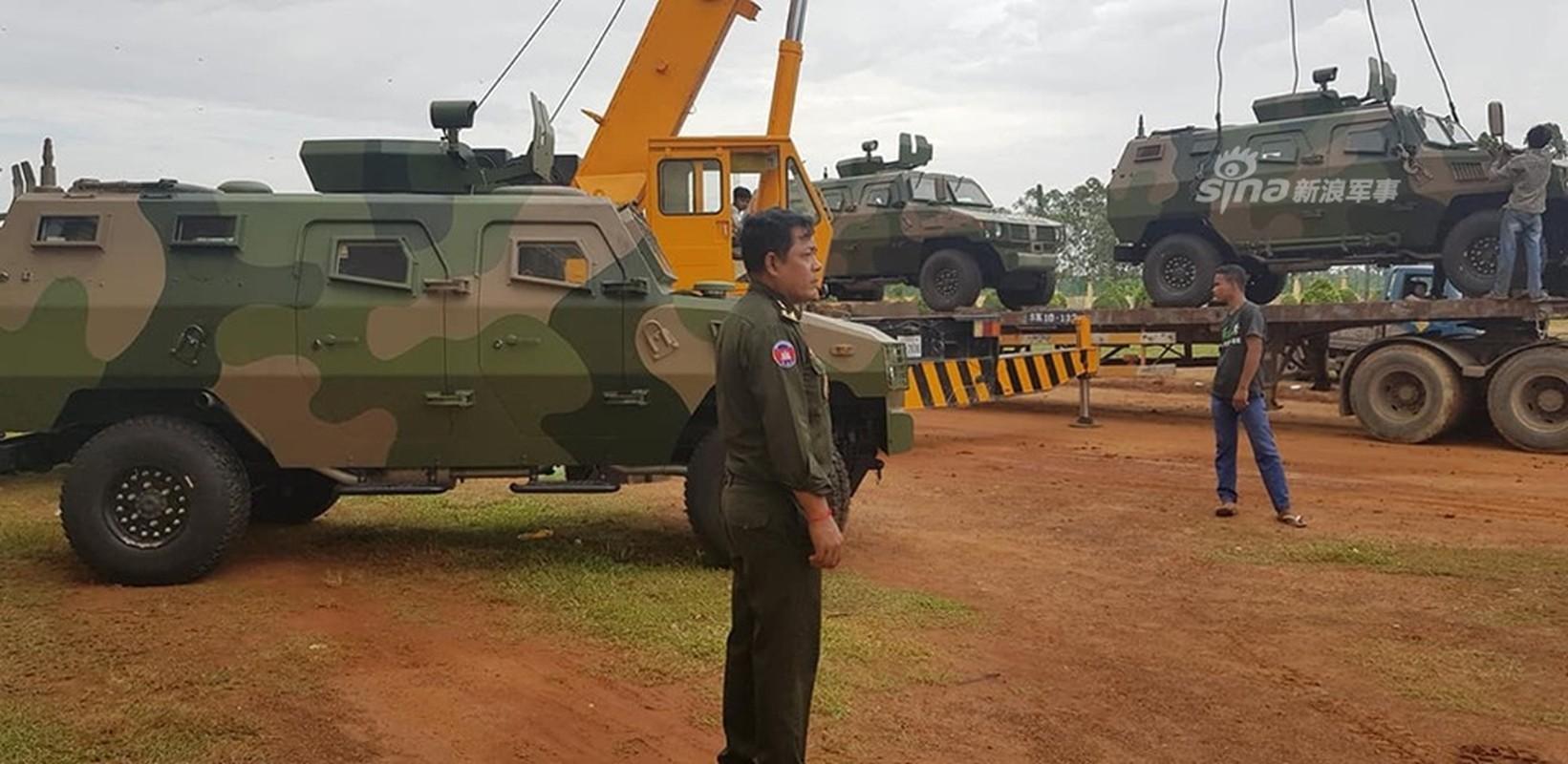 Chang mat dong nao, Campuchia van co loat thiet giap Trung Quoc moi tinh