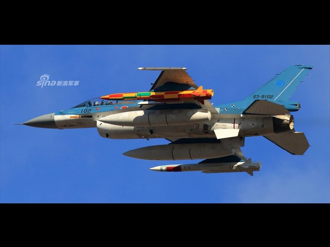 Chien co F-2 cung ten lua ASM-3: