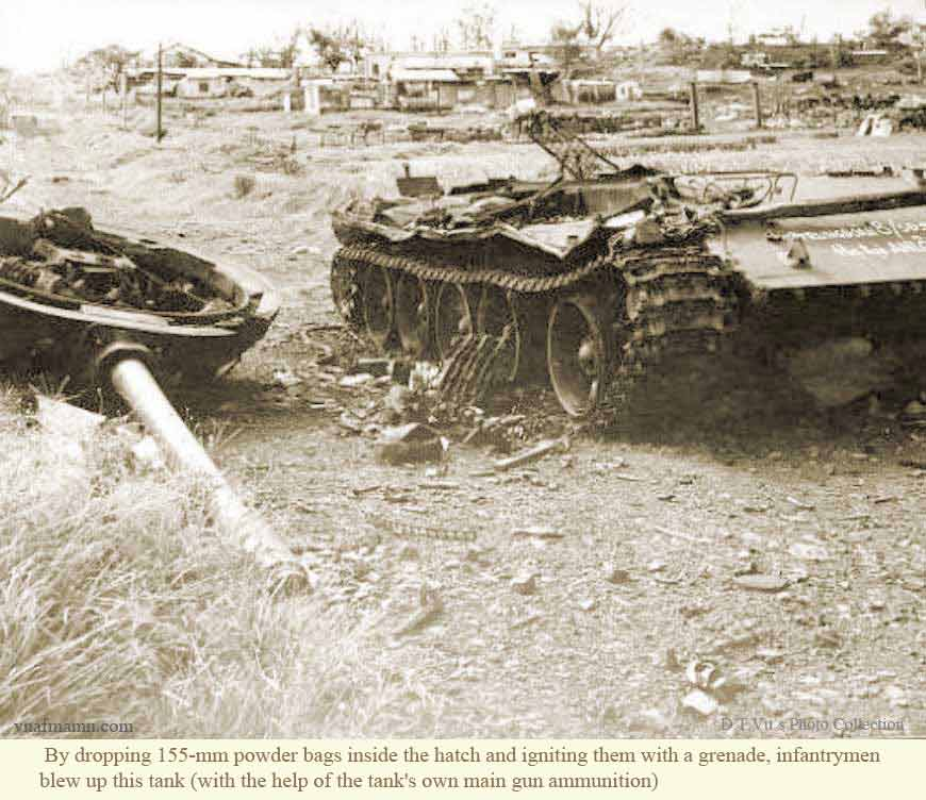 Xot xa dan xe tang T-54/55