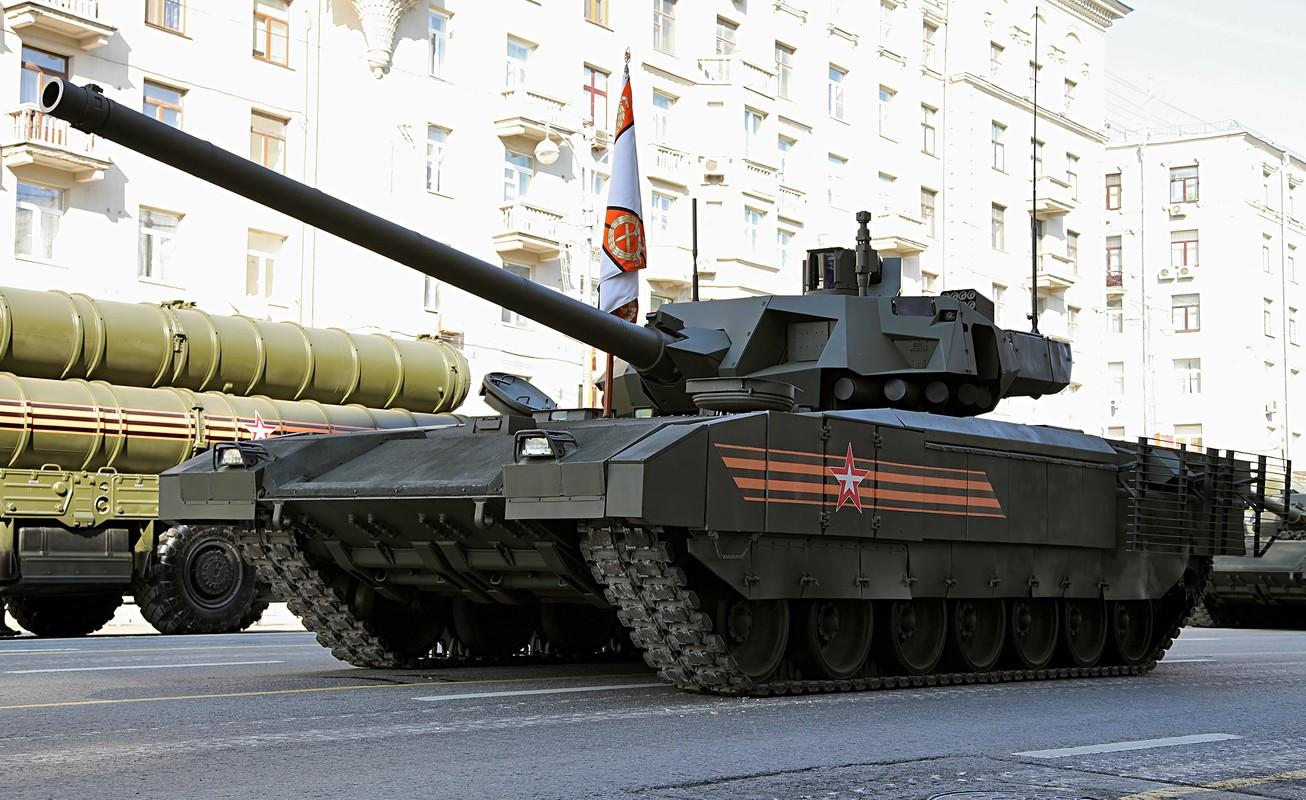Tham vong lap toilet tren xe tang T-14 Armata cua Nga co dang bi che la