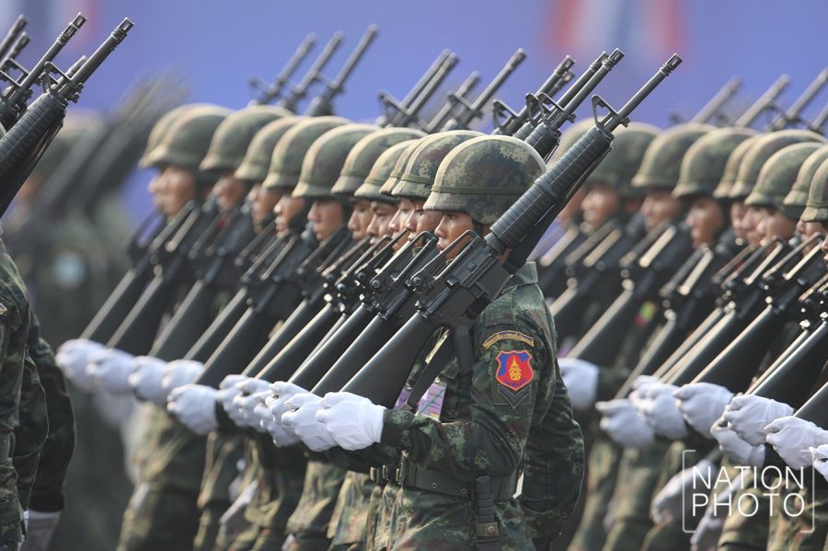 Diem mat dan vu khi Quan doi Hoang gia Thai Lan mang ra mung ngay thanh lap-Hinh-5
