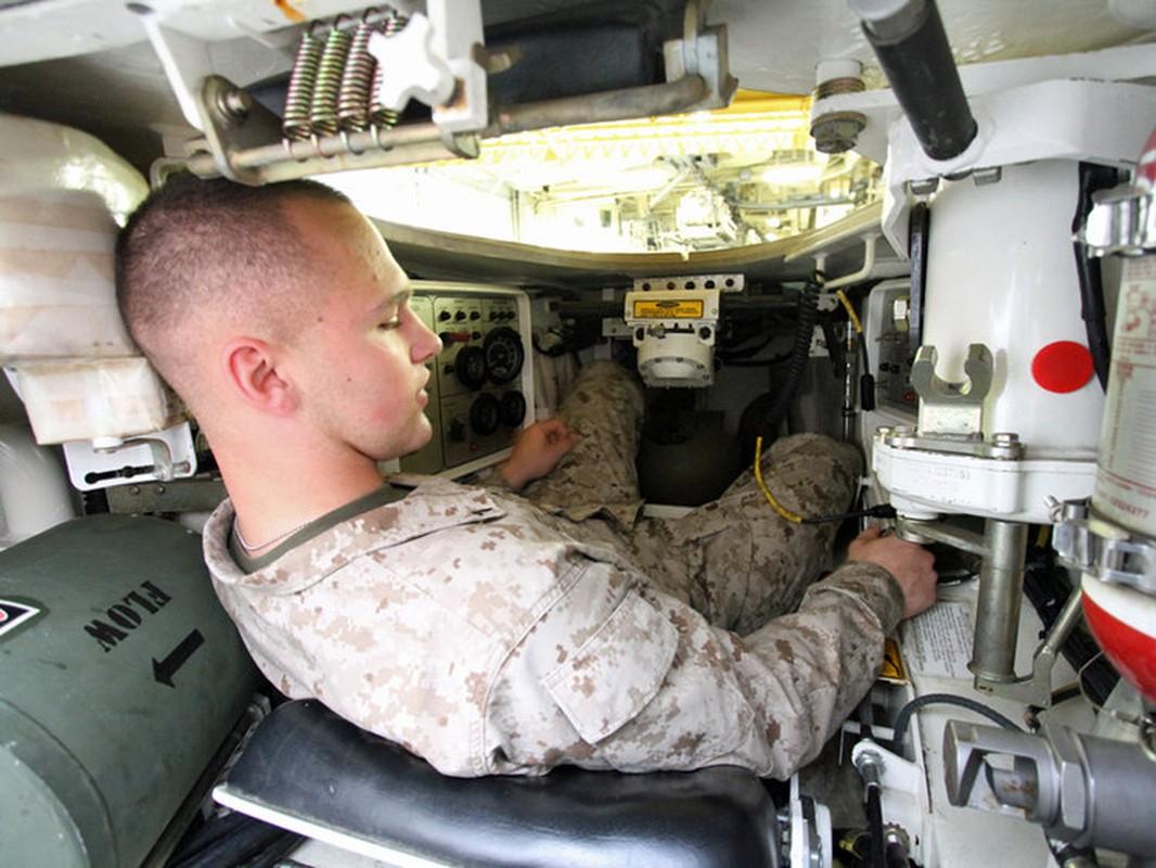 Kinh ngac khi buoc vao noi that xe tang chu luc duy nhat cua My - M1 Abrams-Hinh-7