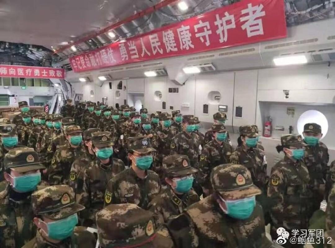 Mo xe van tai co Y-20 Trung Quoc lam cau hang khong tiep te cho Vu Han-Hinh-3