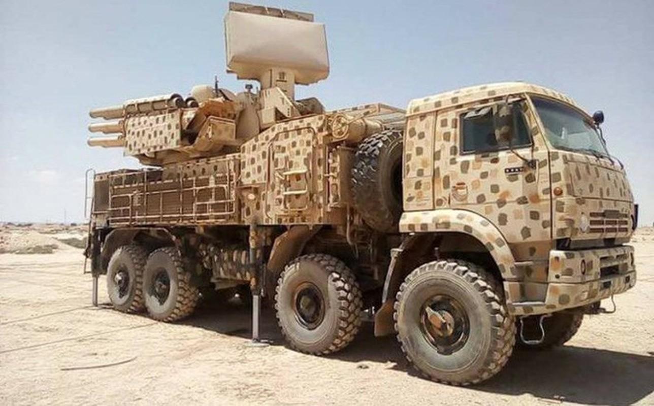 Phong khong Pantsir-S1 Syria phong 9 phat dan chi de ha mot ten lua Israel-Hinh-11