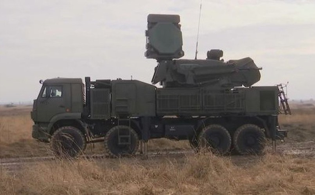 Phong khong Pantsir-S1 Syria phong 9 phat dan chi de ha mot ten lua Israel-Hinh-13