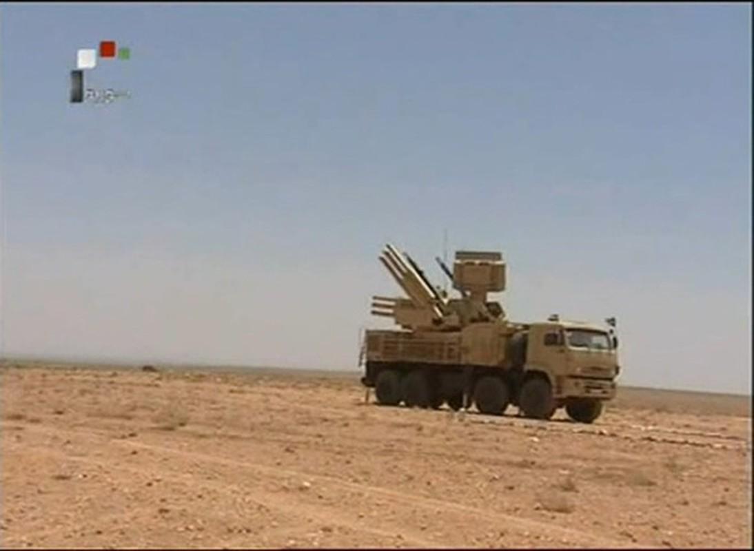 Phong khong Pantsir-S1 Syria phong 9 phat dan chi de ha mot ten lua Israel-Hinh-15