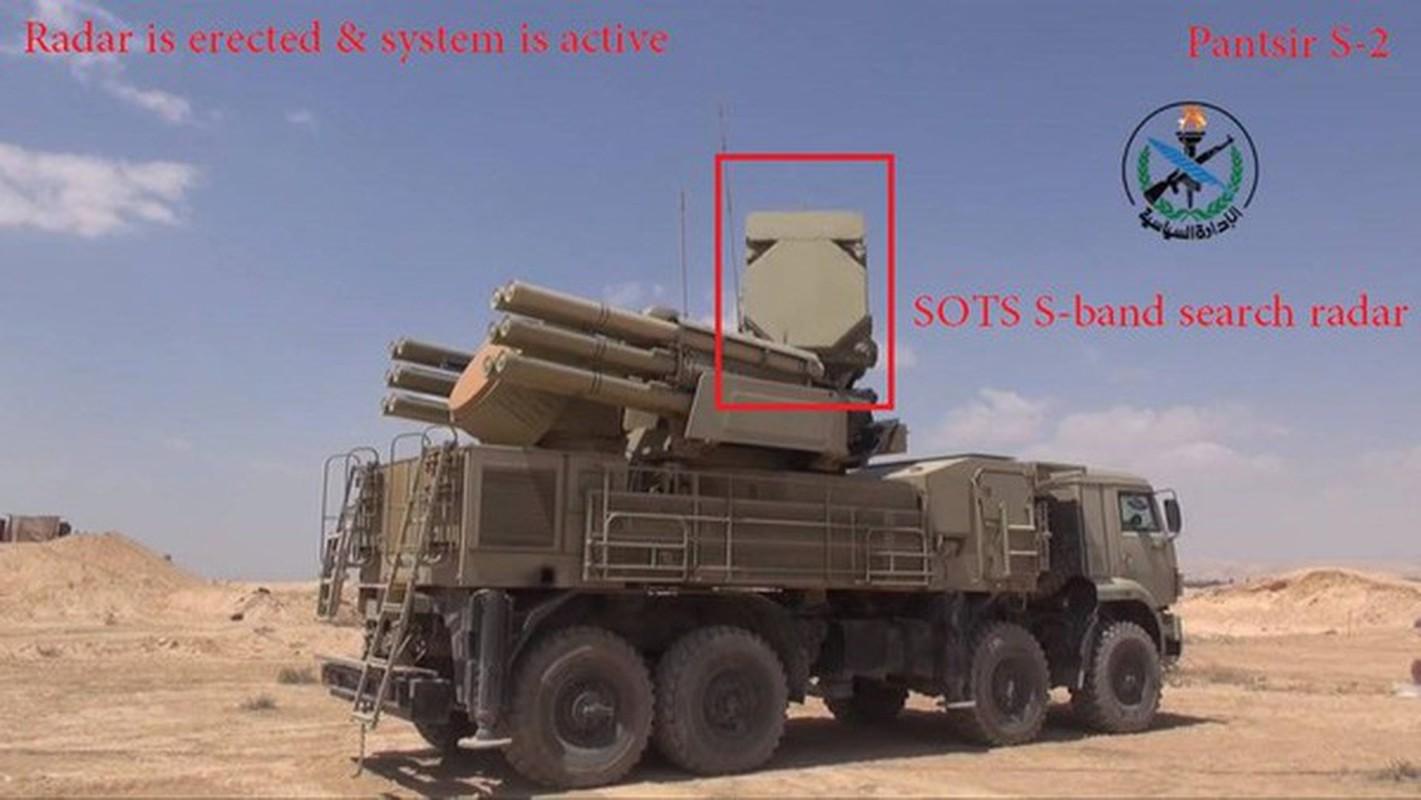 Phong khong Pantsir-S1 Syria phong 9 phat dan chi de ha mot ten lua Israel-Hinh-4