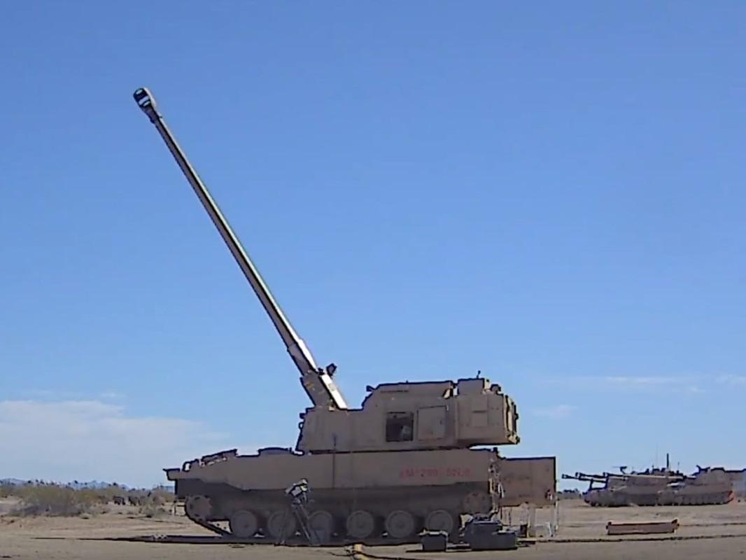 Dan moi giup sieu phao M109 Paladin ban duoc muc tieu xa hon 60km