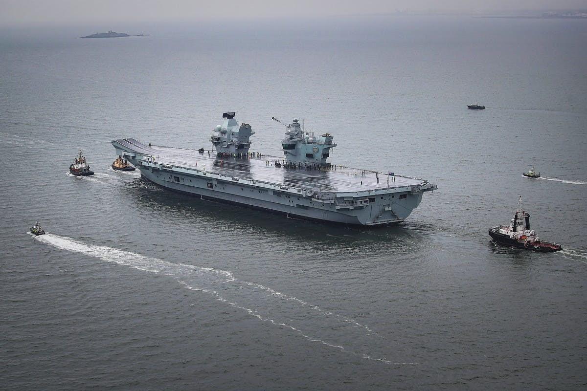 Tau san bay HMS Prince of Wales co giup Anh lay lai vi the