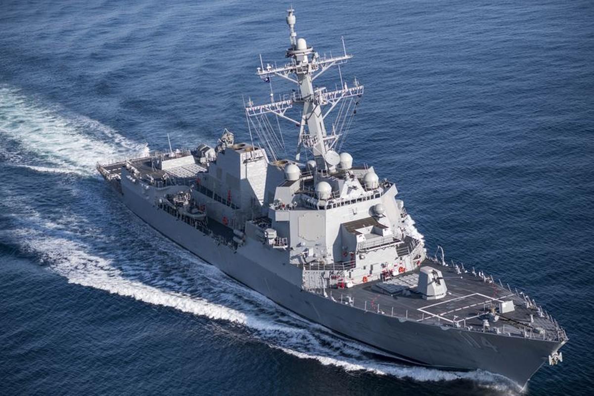 Thuy thu khu truc ham USS Ralph Johnson duong tinh Covid-19, Hai quan My gap kho-Hinh-2