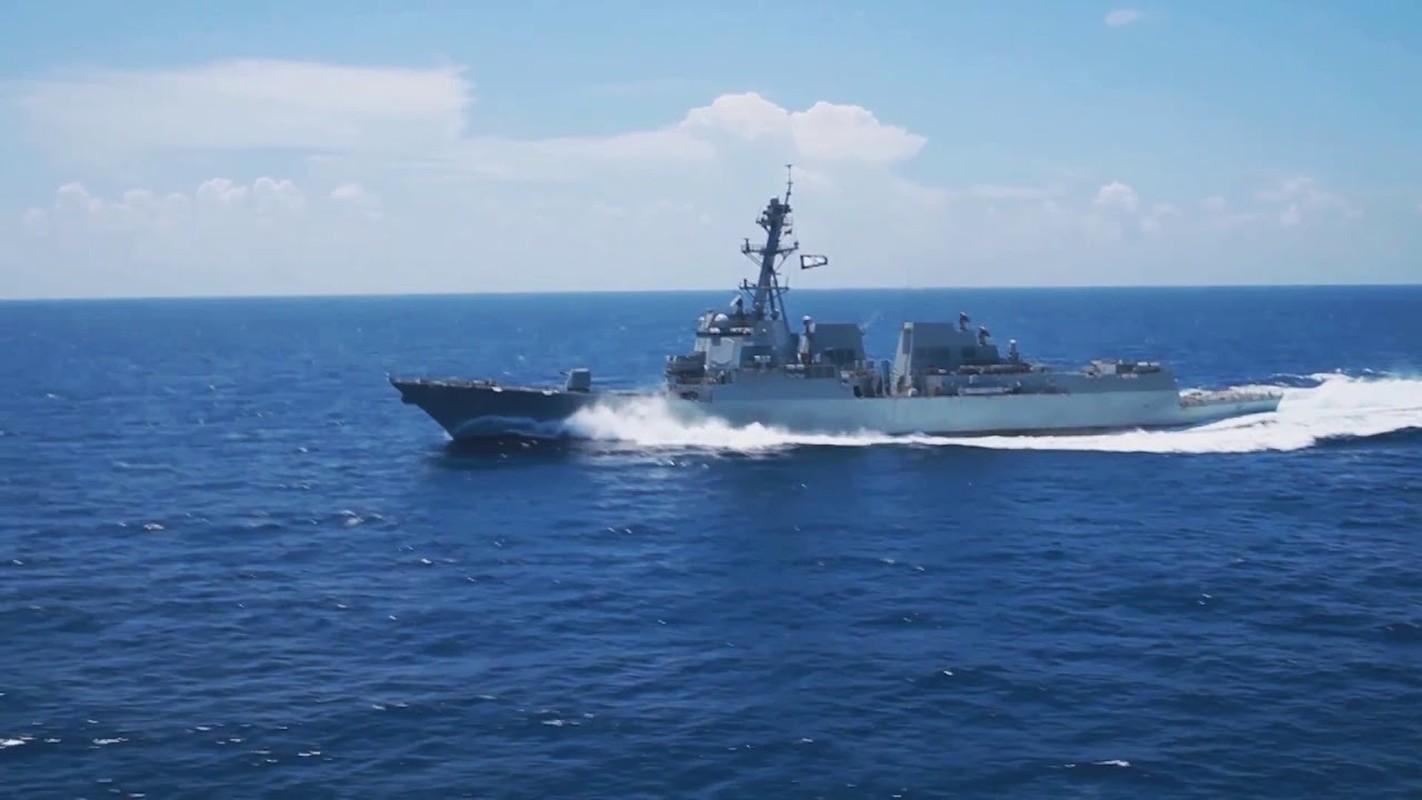 Thuy thu khu truc ham USS Ralph Johnson duong tinh Covid-19, Hai quan My gap kho-Hinh-5