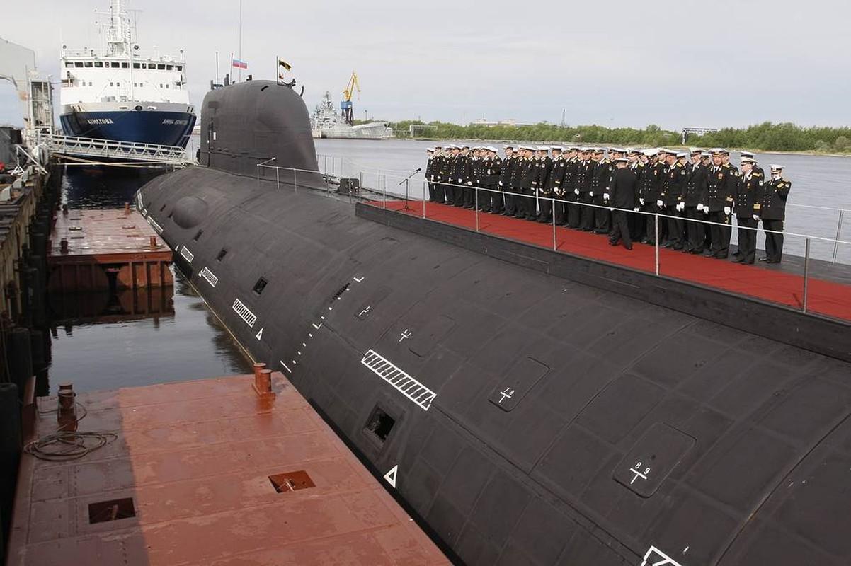Ben trong tau ngam K-560 Severodvinsk manh nhat cua Nga khien My - NATO