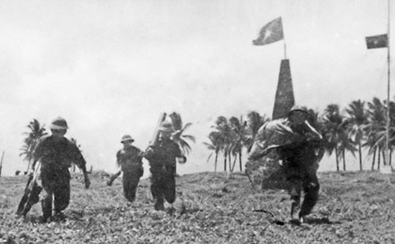 Hai quan Viet Nam giai phong hang loat hon dao trong chien dich Ho Chi Minh